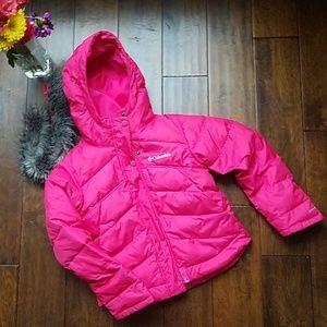 Columbia Pink Parka Jacket (XS 6/6X)